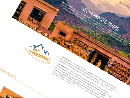 Atlas Private Tours, Website Project