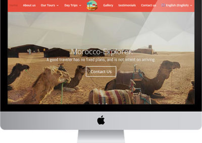 Morocco Explorer,  website project