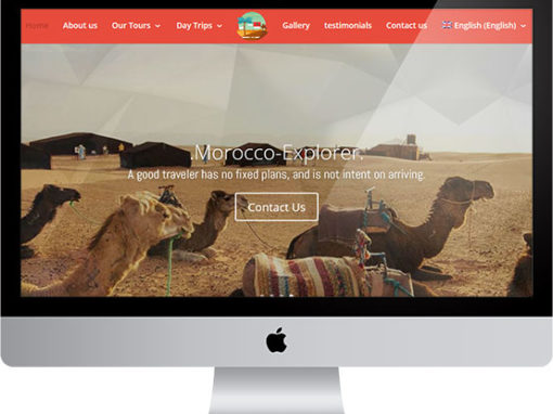 Morocco Explorer,  website project