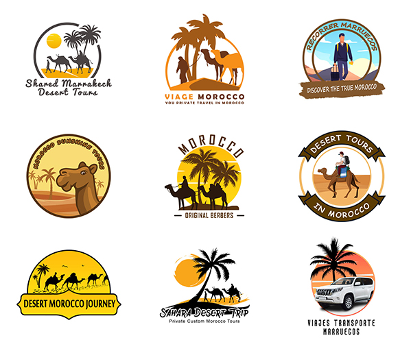 tourism logos [pack 2]