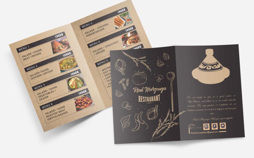 Menu Restaurant Pack 1