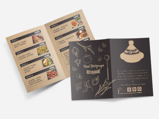 Menu Restaurant Pack 1