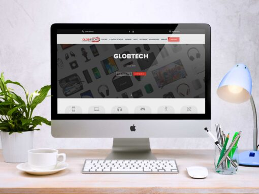 Globtech Site Web E-commerce